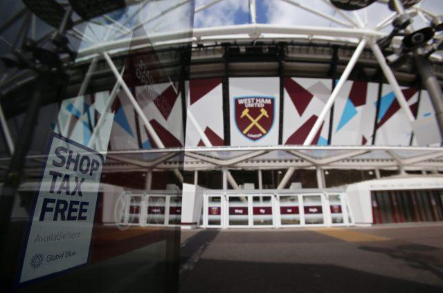 West Ham United's ground was raided by HMRC in April as part of a probe into suspected income tax and National Insurance fraud (Yui Mok/PA)