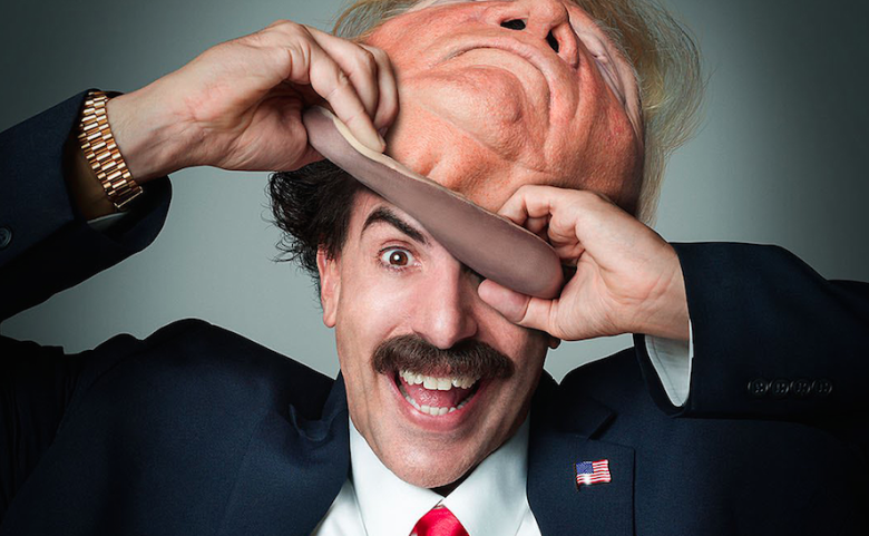 Borat's Jimmy Kimmel interview was as chaotic as you'd expect