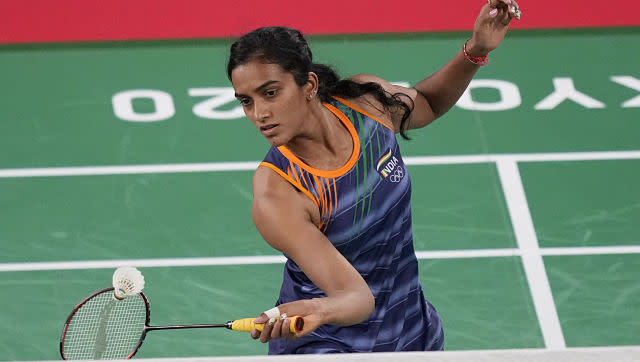 PV Sindhu started her campaign on a happy note as she eased into the second round of women's singles, beating Ksenia Polikarpova of Israel in the first round. AP