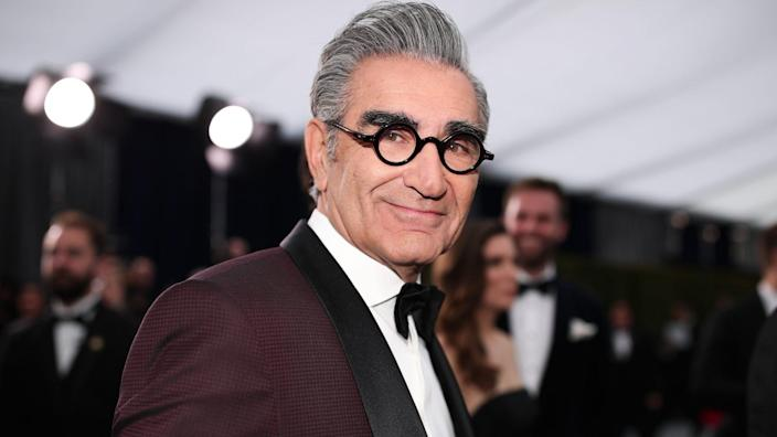 Mandatory Credit: Photo by Christopher Polk/People/Shutterstock (10525969bd)Eugene Levy26th Annual Screen Actors Guild Awards, Arrivals, Shrine Auditorium, Los Angeles, USA - 19 Jan 2020.