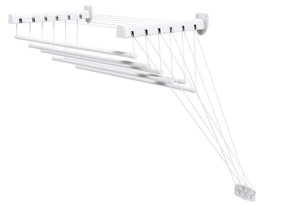 celining-mounted clothes dryer