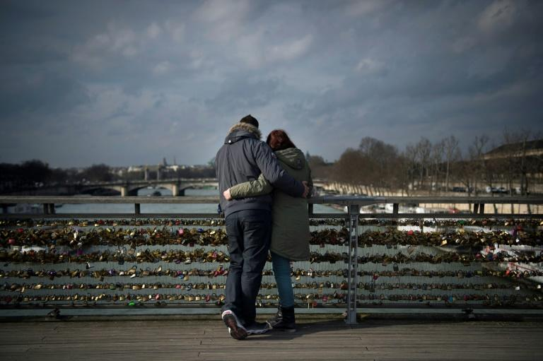 Lovestruck tourists attached the locks to Paris bridges for years before the city cracked down on the practice