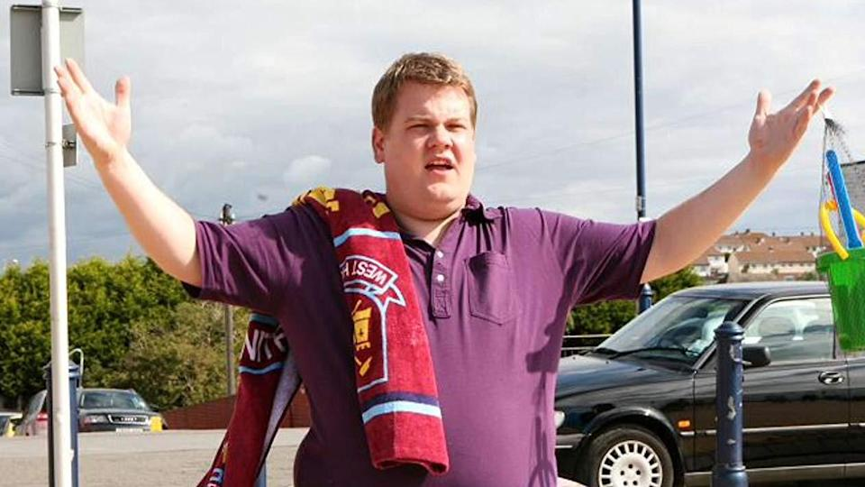 James Corden played Smithy in all three series of BBC sitcom 'Gavin & Stacey'. (Credit: BBC)