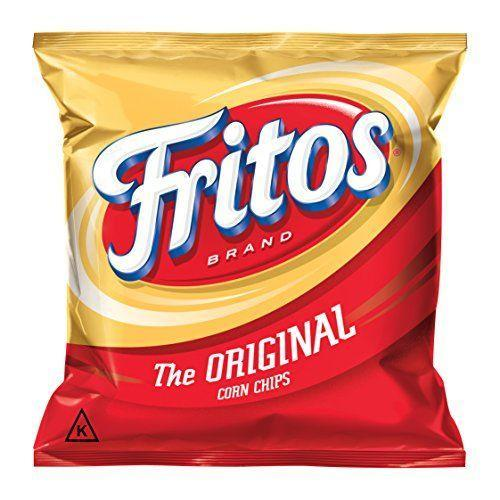 "<p><strong>Fritos</strong></p><p>amazon.com</p><p><strong>$11.18</strong></p><p><a href=""https://www.amazon.com/dp/B071J7HQM2?tag=syn-yahoo-20&ascsubtag=%5Bartid%7C2089.g.35651204%5Bsrc%7Cyahoo-us"" rel=""nofollow noopener"" target=""_blank"" data-ylk=""slk:Shop Now"" class=""link rapid-noclick-resp"">Shop Now</a></p><p>This childhood classic corn chip is totally vegan in its original and barbecue flavors. In fact, the only ingredients in the original flavor are corn, corn oil, and salt!</p><p><em>Per 32 chips: 160 cals, 10 g fat (1.5 g sat), 16 g carbs, 0 sugars, 170 mg sodium, 1 g fiber, 2 g protein. </em></p>"