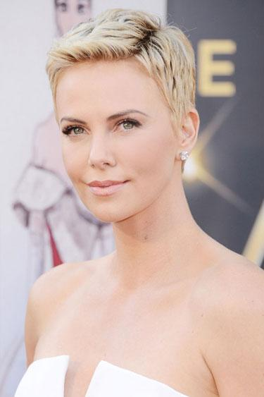 """<div class=""""caption-credit""""> Photo by: Jason Merritt/Getty Images Entertainment</div><div class=""""caption-title"""">Charlize Theron</div><b>The Cut:</b> """"This really is a buzzed style you tend to see on boys,"""" says Theron's hairstylist <a rel=""""nofollow"""" target="""""""" href=""""http://www.cloutierremix.com/enzoangileri/?link=emb&dom=yah_life&src=syn&con=blog_blog_hbz&mag=har%20"""">Enzo Angileri</a>. """"Because it's so easy to wear, Charlize and I have been referring to it as 'freedom.'"""" The crop-which is closely shorn to the head all around, with slight volume on top-stays feminine thanks to delicate tapering at the sideburns and nape. <br> <b>What You Should Know:</b> """"Bright, dimensional hair color makes the cut more interesting,"""" says Angileri. """"And I have to be honest-it looks best on a woman with a gorgeous, proportional body."""" <br> <br> <b>Read More: <br> <a rel=""""nofollow"""" target="""""""" href=""""http://www.harpersbazaar.com/beauty/health-wellness-articles/skincare-tools-0311?link=emb&dom=yah_life&src=syn&con=blog_blog_hbz&mag=har%20"""">Skin Gadgets That Actually Work</a></b> <br> <b><a rel=""""nofollow"""" target="""""""" href=""""http://www.harpersbazaar.com/beauty/health-wellness-articles/fitness-diaries-get-fit-fast-0612?link=emb&dom=yah_life&src=syn&con=blog_blog_hbz&mag=har"""">Steps to Get Fit in Four Weeks</a></b> <br>"""