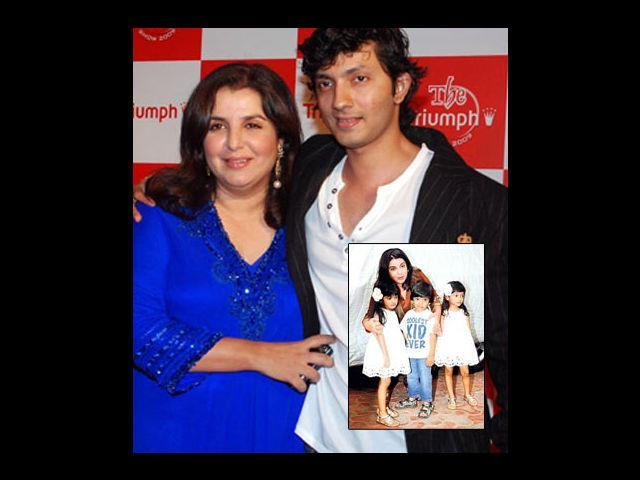 <p><strong>Farah Khan-Shirish Kunder</strong><br /><br />The ace choreographer's babies were also much anticipated by all. After marrying Shirish Kunder in 2004, she gave birth to 3 healthy babies in 2008 at the age of 43. Her triplets enjoy being in the media spotlight.</p>