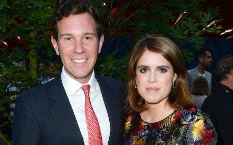 Princess Eugenie and Jack Brooksbank - Credit: Richard Young/REX/Shutterstock