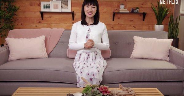 But you can totally apply the KonMari method to other parts of your life. Photo: Netflix