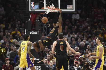 National Basketball Association roundup: Cavaliers make it 16 out of 17