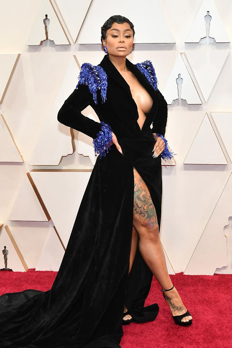 HOLLYWOOD, CALIFORNIA - FEBRUARY 09: Blac Chyna attends the 92nd Annual Academy Awards at Hollywood and Highland on February 09, 2020 in Hollywood, California. (Photo by Amy Sussman/Getty Images)