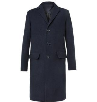 """<p>A classic overcoat from Mr Porter's inaugural in-house collection, this single-breasted navy overcoat is made in Italy from 100% virgin wool and is a stylish reminder that winter isn't so bad when you (or a very lucky loved on) have a great coat like this to wear. </p><p><em>Mr P. Double-Faced Virgin-Wool Overcoat, £595, <a rel=""""nofollow"""" href=""""https://www.mrporter.com/en-gb/mens/mr_p/double-faced-virgin-wool-overcoat/983099"""">mrporter.com</a></em></p>"""