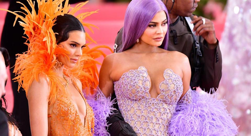 Kylie Jenner's reaction to her sister confiding in her about her anxiety has divided opinions. [Photo: Getty]
