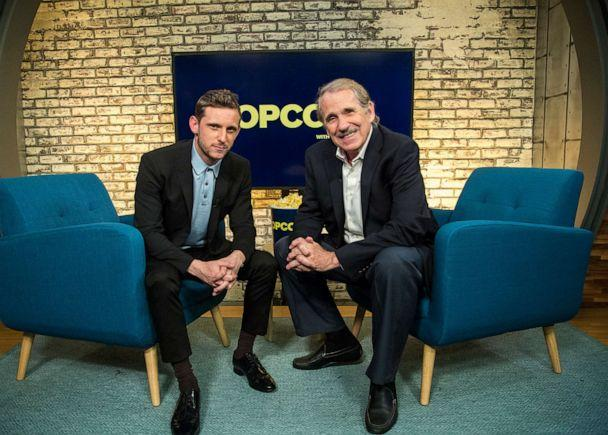 PHOTO: Jamie Bell appears on 'Popcorn with Peter Travers' at ABC News studios, July 23, 2019. (Jeff Swartz/ABC News)