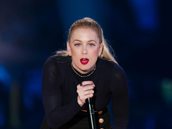 Iliza Shlesinger in one of her Netflix original comedy specials.