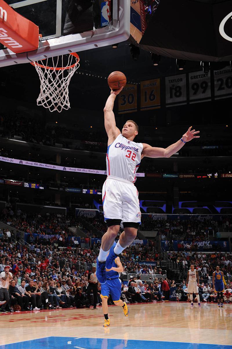 Griffin leads Clips past Warriors for 9 in a row