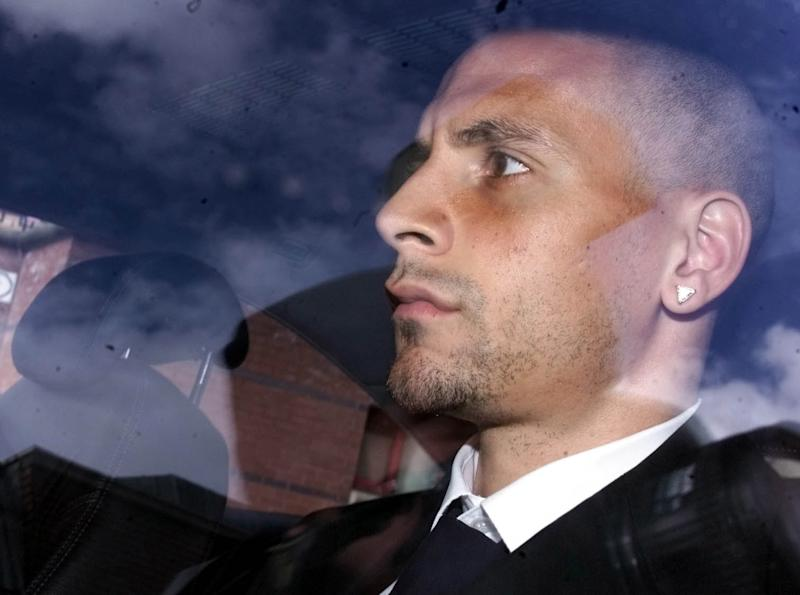 Manchester United defender Rio Ferdinand leaves Leeds Crown Court, after giving evidence at the trial of another man accused of attempted rape. * Mr Ferdinand was giving evidence in the defence of 33-year-old Martin Luther King, of Montague Crescent, Oakwood, Leeds, who denies attempting to rape a 22-year-old woman, indecently assaulting and kidnapping her.
