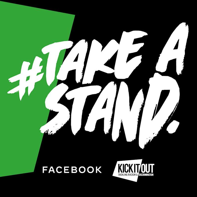The logo for the new Take A Stand initiative