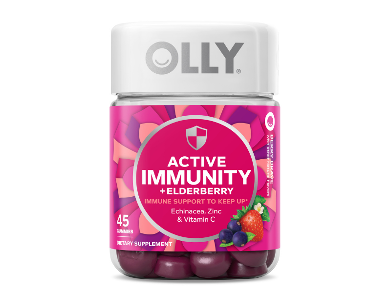 OLLY Immunity Gummy, Immune Support, 45-count. (Photo: Walmart)