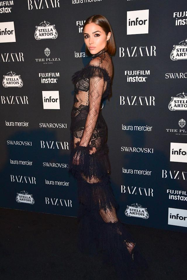 <p>Olivia Culpo attends the <em>Harper's Bazaar</em> Icons party. (Photo by Sean Zanni/Patrick McMullan via Getty Images) </p>