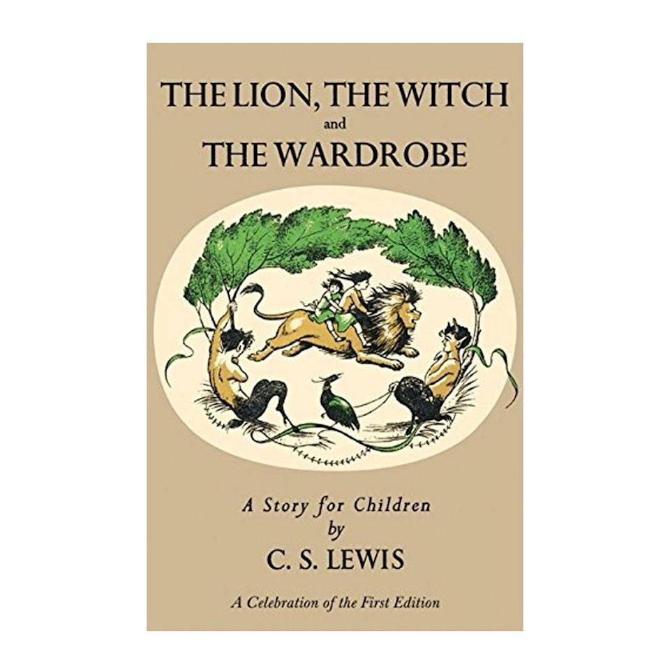 """<p><strong>$8.05</strong> <a class=""""link rapid-noclick-resp"""" href=""""https://www.amazon.com/Lion-Witch-Wardrobe-Chronicles-Narnia/dp/0064404994/ref?tag=syn-yahoo-20&ascsubtag=%5Bartid%7C10054.g.35036418%5Bsrc%7Cyahoo-us"""" rel=""""nofollow noopener"""" target=""""_blank"""" data-ylk=""""slk:BUY NOW"""">BUY NOW</a><br><strong>Genre:</strong> Children's</p><p>With a prequel emerging several years later, today <em>The Lion, the Witch and the Wardrobe</em> is the second of seven books in C.S. Lewis' suspenseful series, <em>The </em><em>Chronicles of Narnia,</em> although it was published first. It relays the story of four siblings who step through a wardrobe door and find themselves in the <em>fantasmic</em> land of Narnia.<br></p>"""