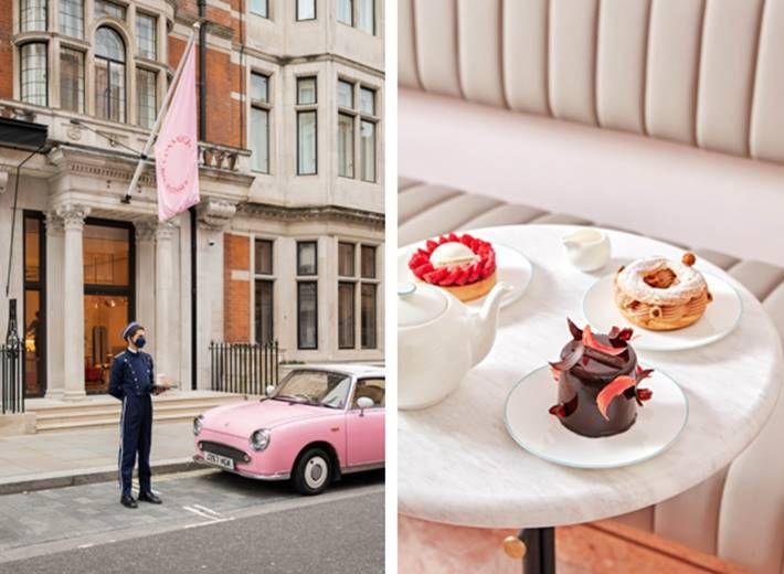 Photo credit: Courtesy of The Connaught Patisserie