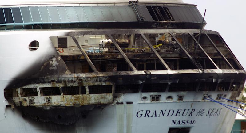 Passengers returning to US after cruise ship fire