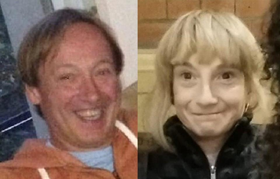 Clinton Ashmore and Sharon Pickles were found dead in Westminster hours apart (Metropolitan Police/PA) (PA Wire)