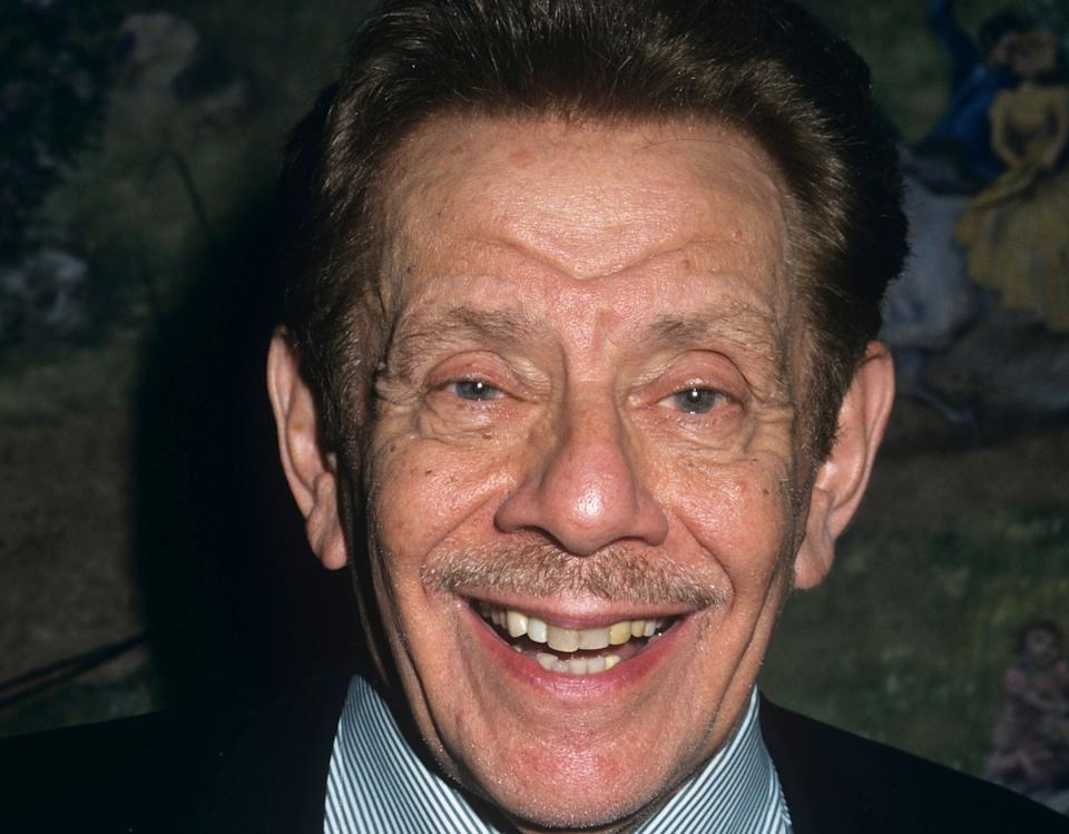 """Jerry Stiller, the comedic legend who played hilariously crusty fathers on """"Seinfeld"""" and """"The King Of Queens,"""" and was the actual father to actor Ben Stiller, died on May 11, 2020 at 92."""