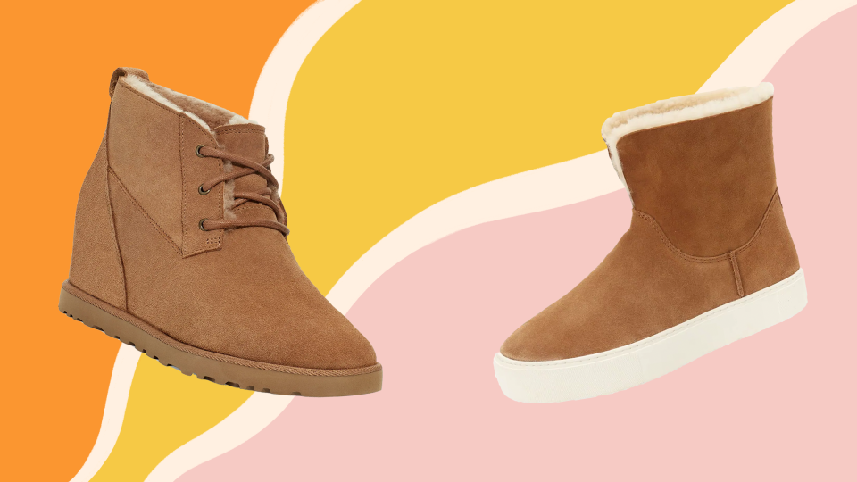 You can save up to 50% off UGG boots at Nordstrom.