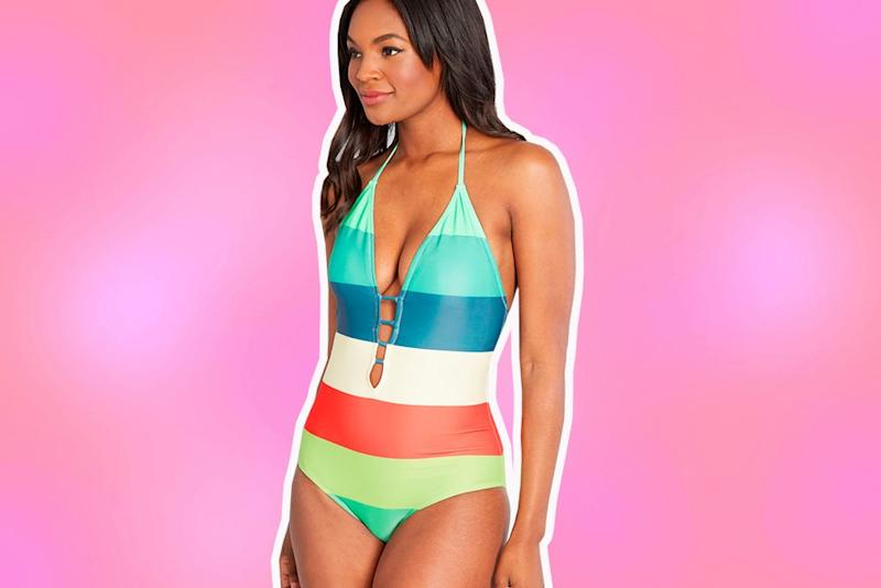 7bbc71b403c1e One-piece swimsuits so cute, you'll want to wear them outside of the water