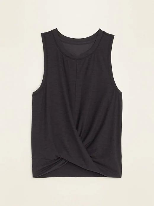 <p>This <span>Old Navy Breathe ON Twist-Hem Cropped Tank Top</span> ($23) is both stylish and functional.</p>