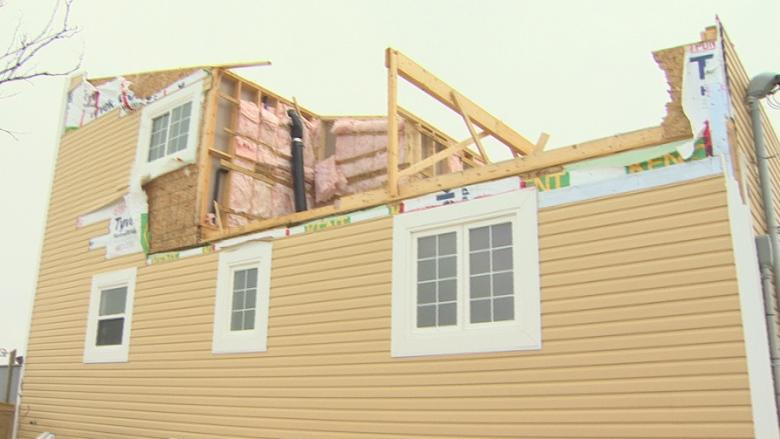 Offers of help pouring in for Torbay couple after storm tears roof off house