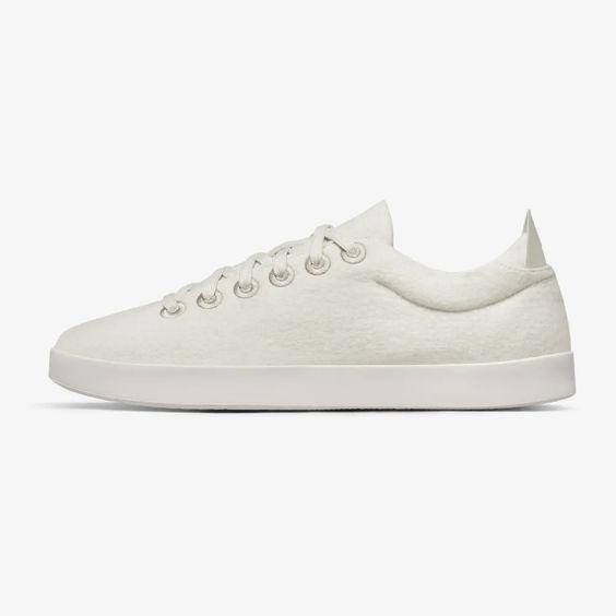 """As a part of its Better Together pledge, for every pair of Allbirds kicks you purchase, one pair will be donated to a healthcare worker. $95, Allbirds. <a href=""""https://www.allbirds.com/products/womens-wool-pipers-natural-white"""" rel=""""nofollow noopener"""" target=""""_blank"""" data-ylk=""""slk:Get it now!"""" class=""""link rapid-noclick-resp"""">Get it now!</a>"""