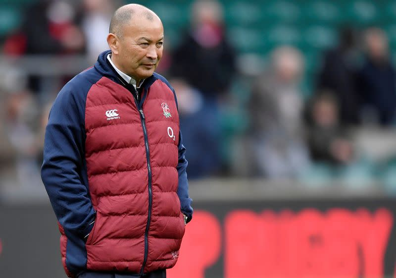 Rugby: No fans, no fight - England coach Jones' on soccer's crazy scores