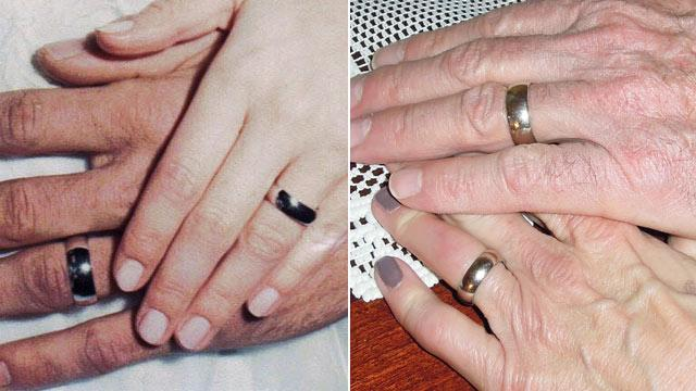 Wedding Ring Lodged Behind Bathroom Vanity Found 40 Years Later