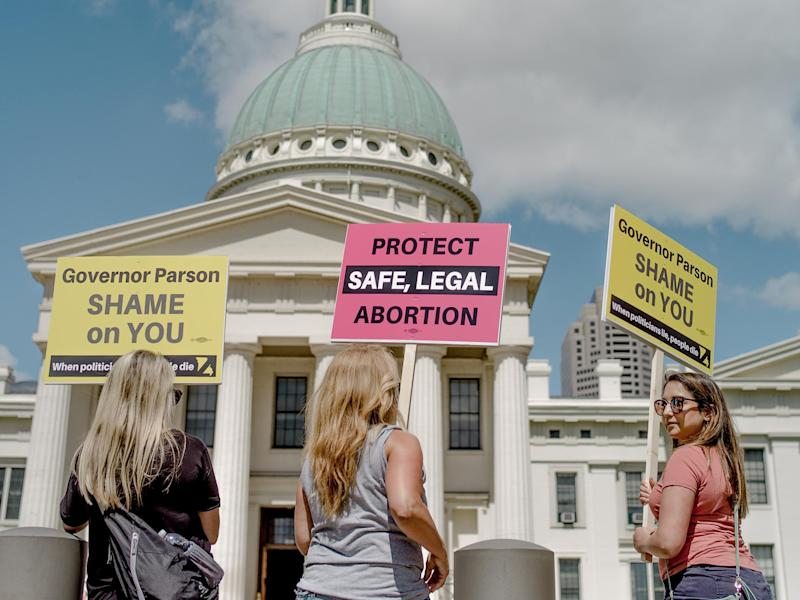 Abortion rights have been restricted in several US states in recent years: Getty