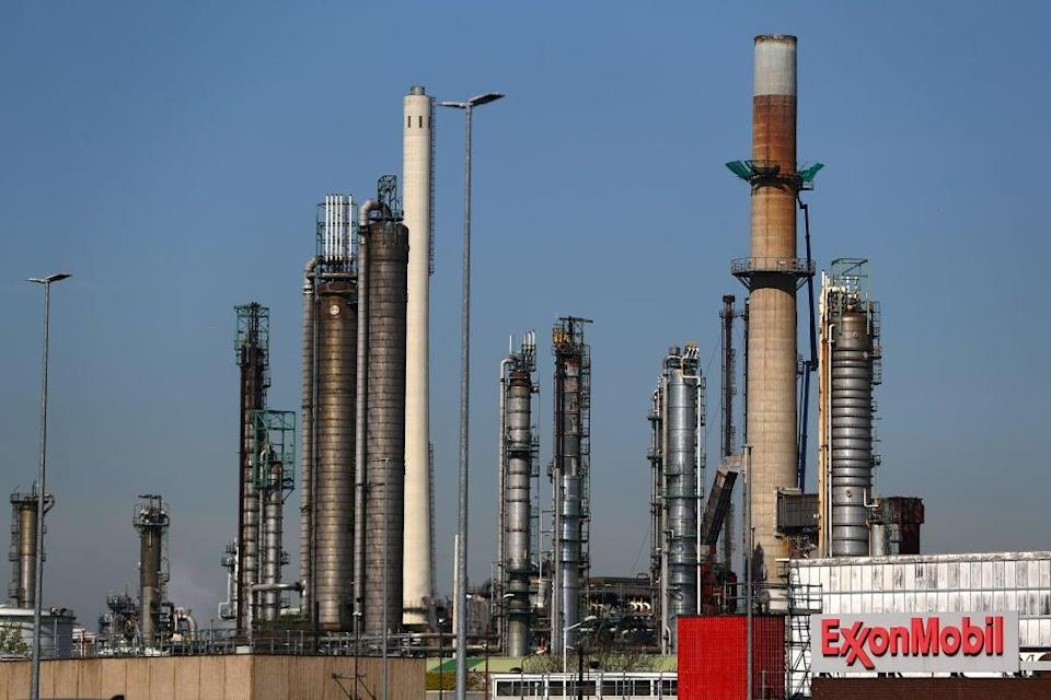 Exxon Mobil refinery in the Port of Rotterdam  (Getty Images)