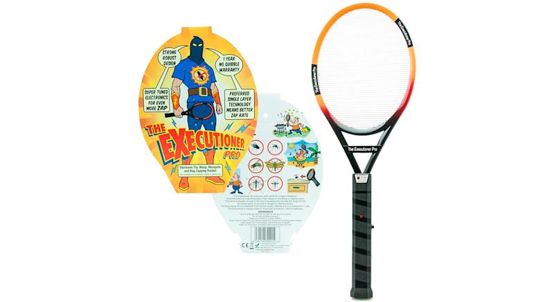 The Executioner Pro Fly Killer Mosquito Swatter Racket