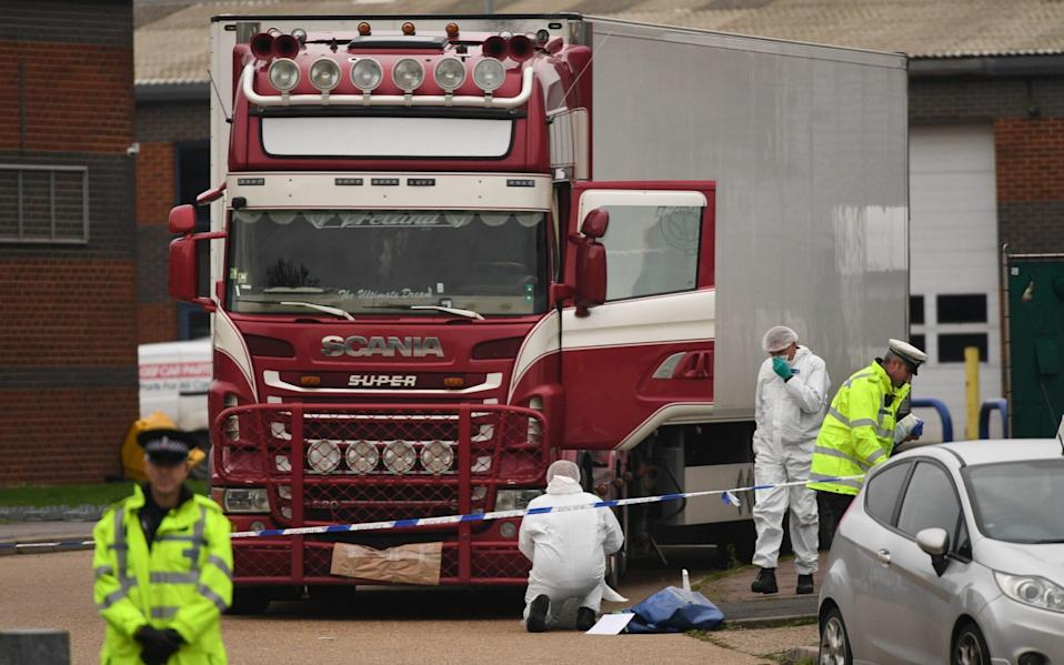 Essex lorry deaths: Driver told to give migrants 'air quickly' but not to let them out, trial hears - Stefan Rousseau