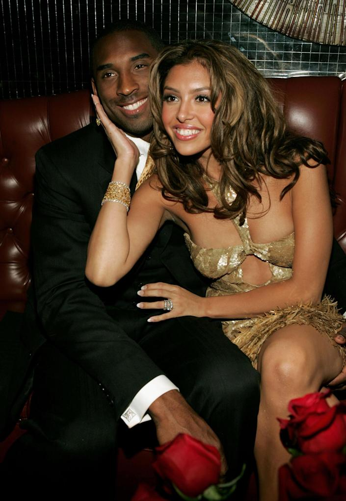 Kobe Bryant and Vanessa Bryant (Frank Micelotta / Getty Images)