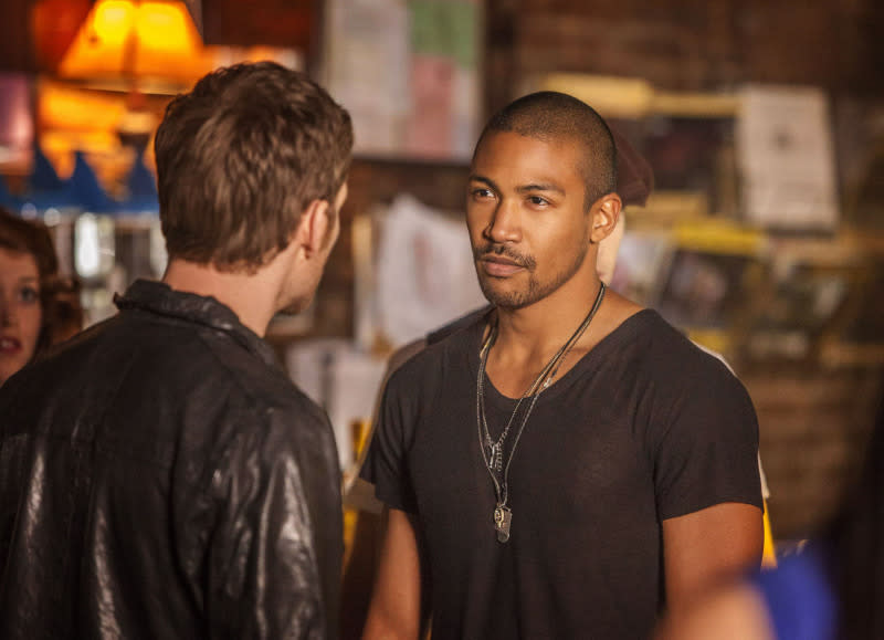 """The Originals"" -- Joseph Morgan as Klaus and Charles Michael Davis as Marcel"
