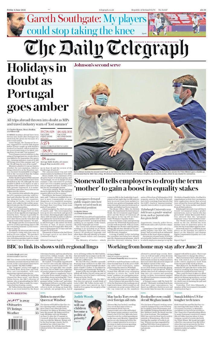 tel front page