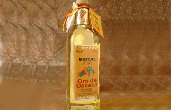 <b>2. Mezcal:</b> Mezcal is a distilled alcoholic beverage made of a form of agave plant from Mexico. What makes it special? As a marketing gimmick in the 1940's, the producers started putting a worm in the bottle, a larval form of the moth Hypopta Agavis that lives on the agave plant. The trend caught on and to this very day Mezcal is sold with a visually disturbing worm inside it!