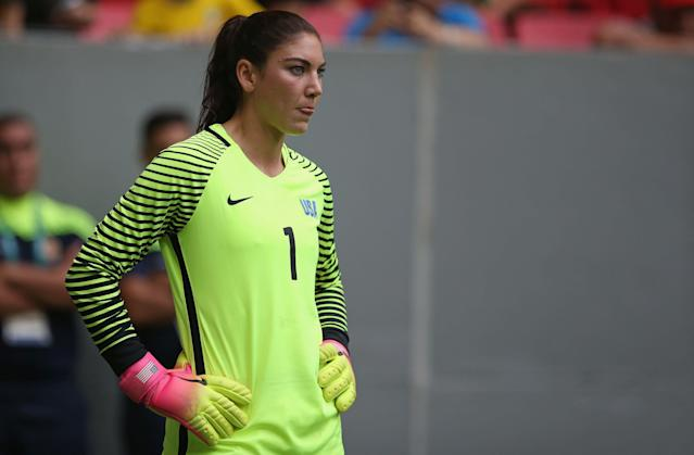 For much of the last two decades, Hope Solo was considered the best keeper on the planet, and perhaps of all time. (Steve Bardens/Getty)