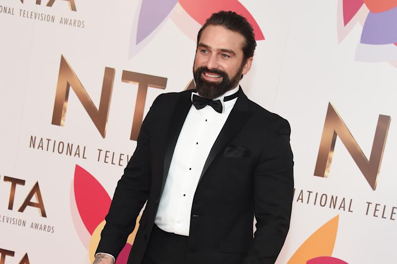 LONDON, ENGLAND - JANUARY 22: Ant Middleton poses in the Winners Room during the National Television Awards held at The O2 Arena on January 22, 2019 in London, England. (Photo by David M. Benett/Dave Benett/Getty Images)