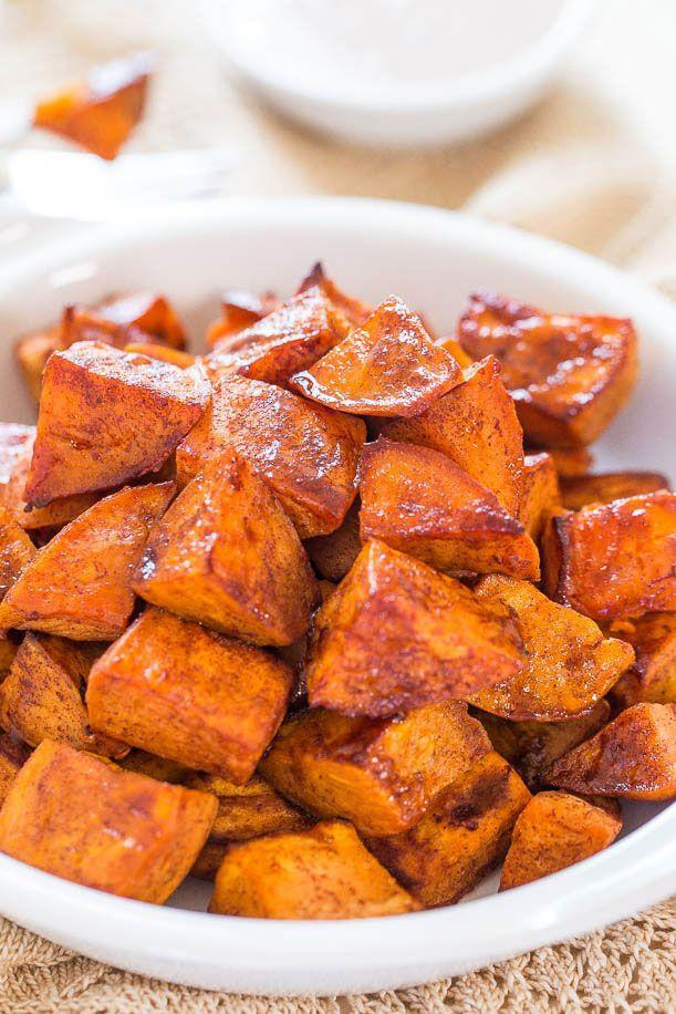"""<p>This side dish is so good, you may want to make it a main.<br></p><p><strong>Get the recipe at <a href=""""http://www.averiecooks.com/2014/09/honey-roasted-sweet-potatoes-with-honey-cinnamon-dip.html"""" rel=""""nofollow noopener"""" target=""""_blank"""" data-ylk=""""slk:Averie Cooks"""" class=""""link rapid-noclick-resp"""">Averie Cooks</a>.</strong> </p>"""