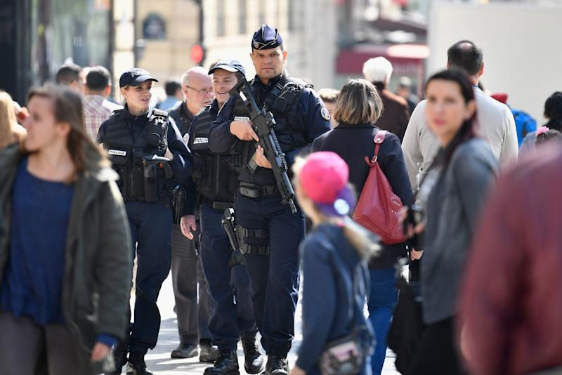There is increased security on the streets of Paris in the wake of the attack - 2017 Getty Images