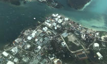 Damage is seen from Hurricane Dorian on Abaco Island in the Bahamas. (Picture: Getty)