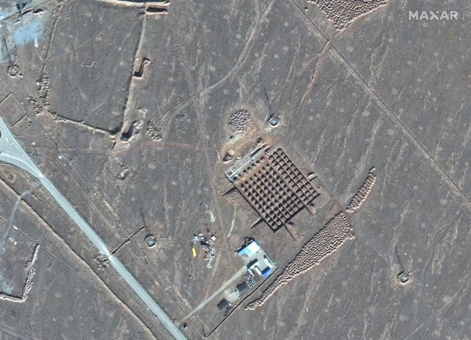 Iran has begun construction on a site at its underground nuclear facility at Fordo amid tensions with the U.S. over its atomic program, satellite photos show. Source: AP