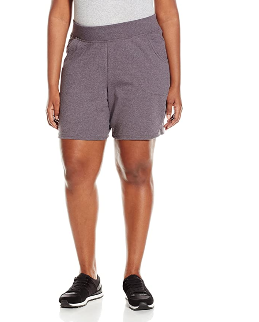 """<br> <br> <strong>Just My Size</strong> Plus Cotton Jersey Pull-On Shorts, $, available at <a href=""""https://amzn.to/2A01CFE"""" rel=""""nofollow noopener"""" target=""""_blank"""" data-ylk=""""slk:Amazon Fashion"""" class=""""link rapid-noclick-resp"""">Amazon Fashion</a>"""